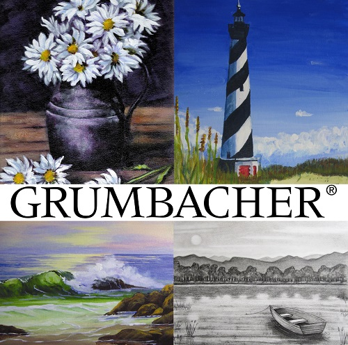 Grumbacher Acrylic Painting Class at Michael's with Nicole Fasula